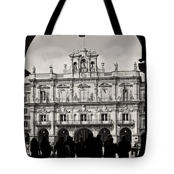 Plaza Mayor Salamanca Tote Bag