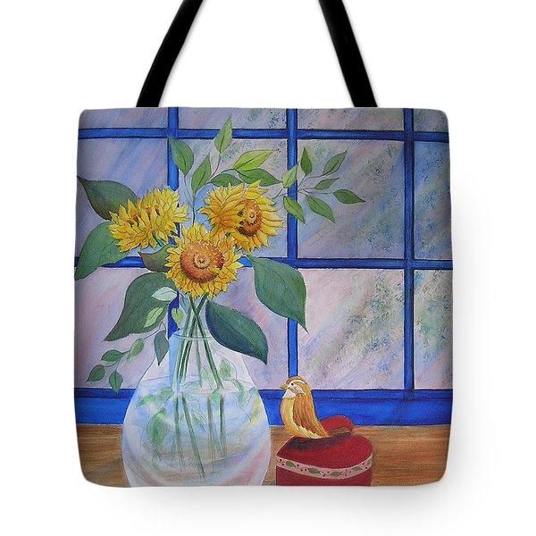 Pleasant Surprise Tote Bag by Laura Nance