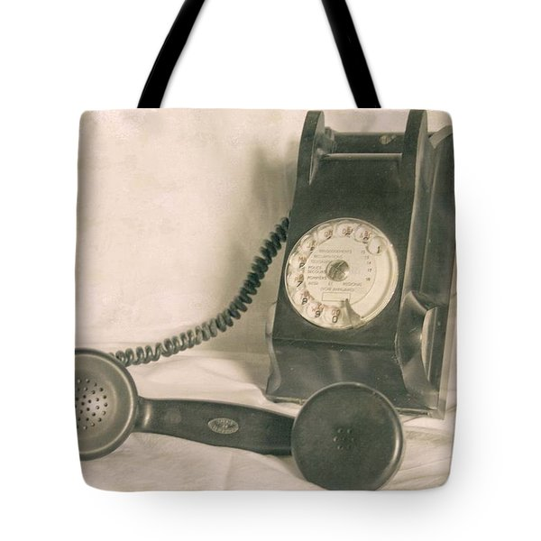 Please Call Tote Bag by Georgia Fowler