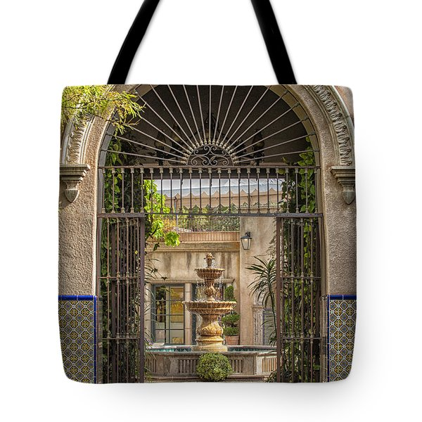 Please Come In Tote Bag by Sandra Bronstein