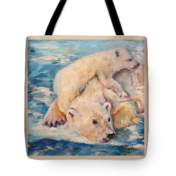 You Need Another Nap, Polar Bears Tote Bag