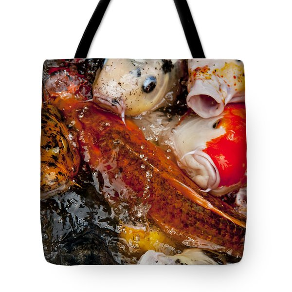 Please Feed Us  Tote Bag by Wilma  Birdwell