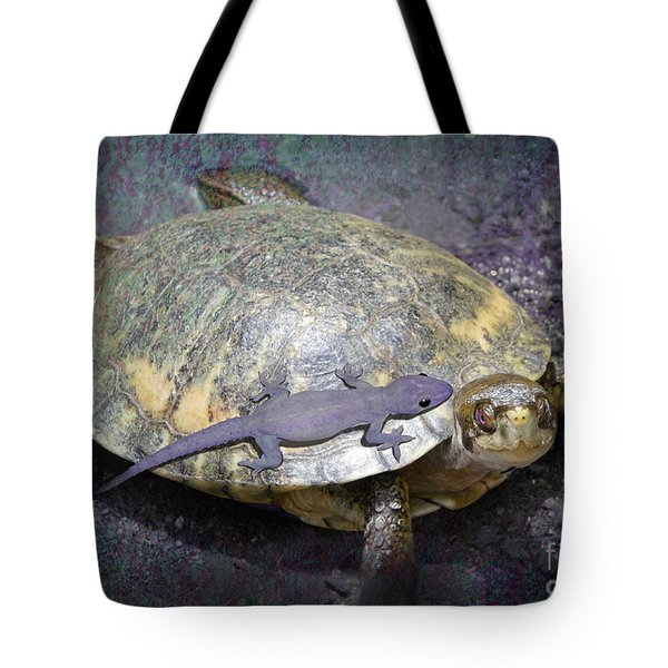Please Share The Journey Tote Bag by Audra D Lemke