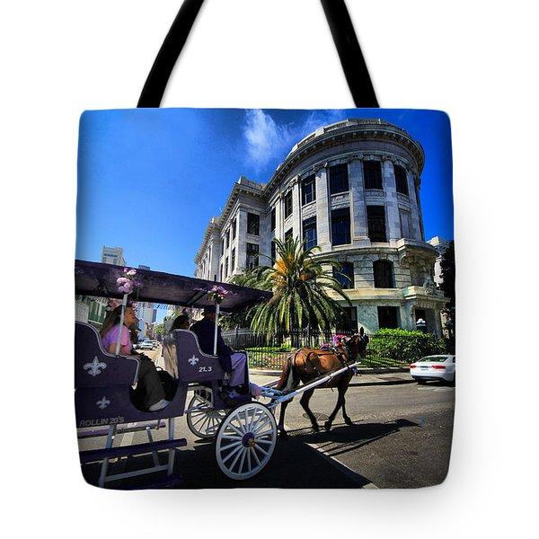 Pleasure Cruise Tote Bag by Robert McCubbin