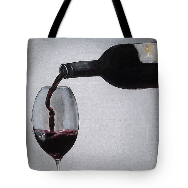 Pleasure In A Glass Tote Bag by Melissa Torres