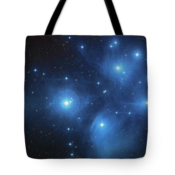 Pleiades - Star System Tote Bag