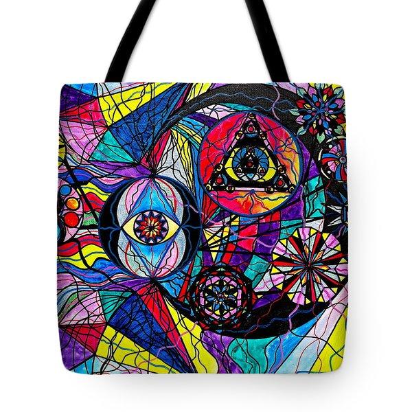 Pleiades Tote Bag by Teal Eye  Print Store