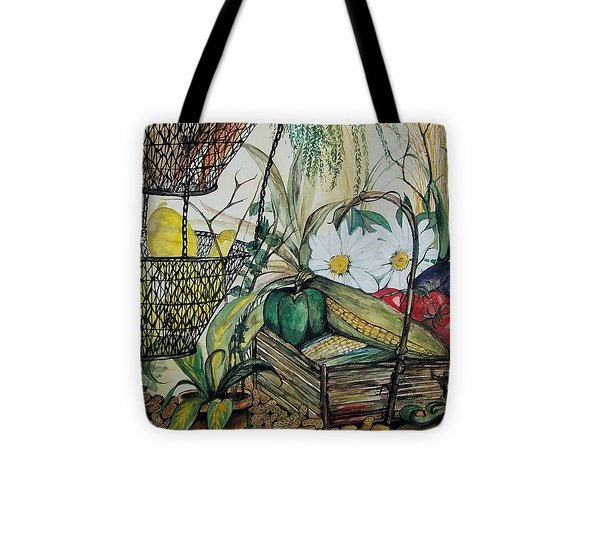 Plentiful Harvest Tote Bag by Laneea Tolley