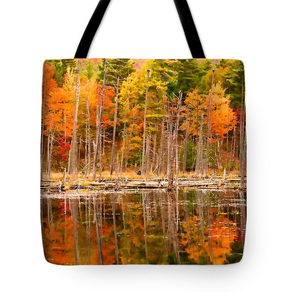 Plethora Of Fall Colors Tote Bag