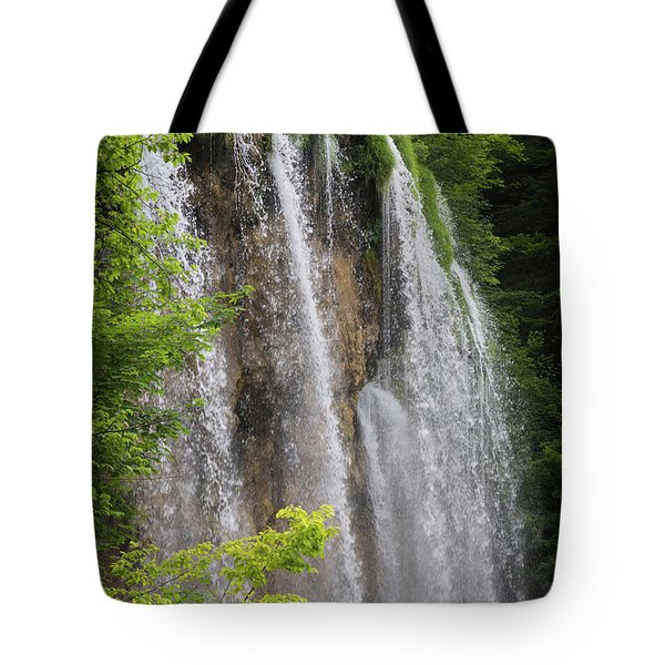 Plitvice Lakes National Park, Lika-senj Tote Bag