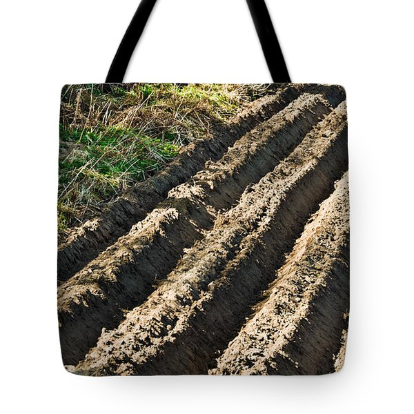 Ploughed Field Tote Bag by Jane McIlroy