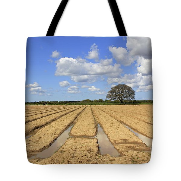 Ploughed Field Tote Bag
