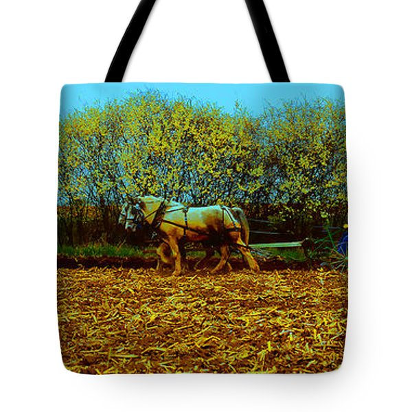 Tote Bag featuring the photograph Plow Days Freeport  Tom Jelen by Tom Jelen