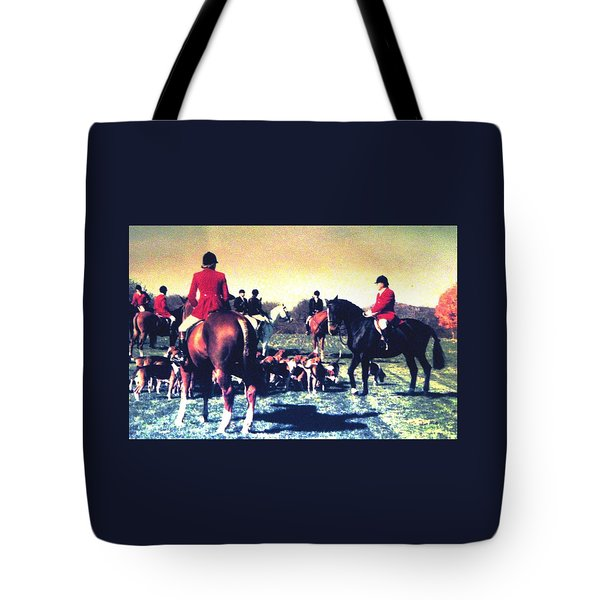 Plum Run Hunt Opening Day Tote Bag