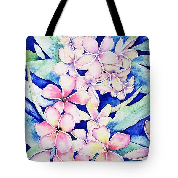 Plumerias Of Maui Tote Bag