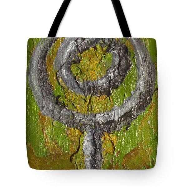 Pluto Glyph Tote Bag by Jeffrey Oleniacz