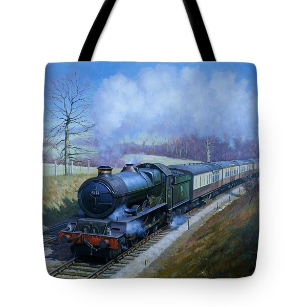 Plymouth Bound. Tote Bag by Mike  Jeffries