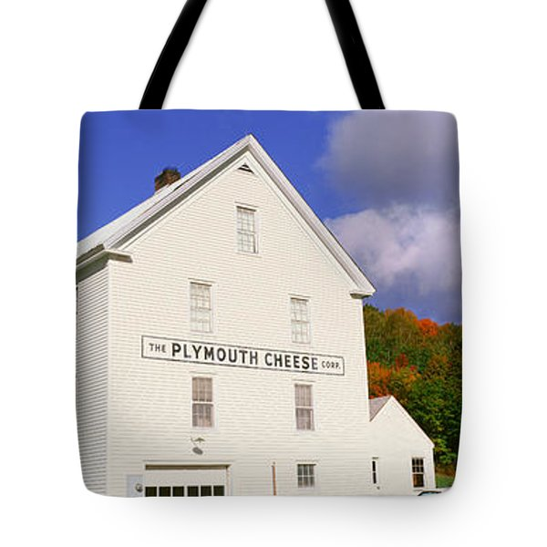 Plymouth Cheese Corporation In Autumn Tote Bag