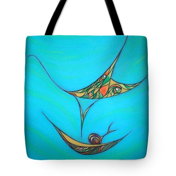 Pneuma Tote Bag by Robert Nickologianis
