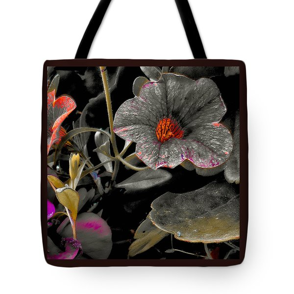 Tote Bag featuring the photograph Pocket Of Orange by Thom Zehrfeld