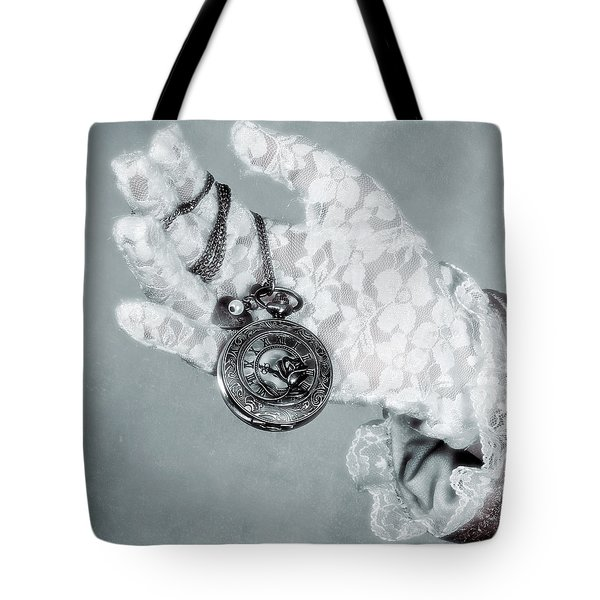 Pocket Watch Tote Bag by Joana Kruse