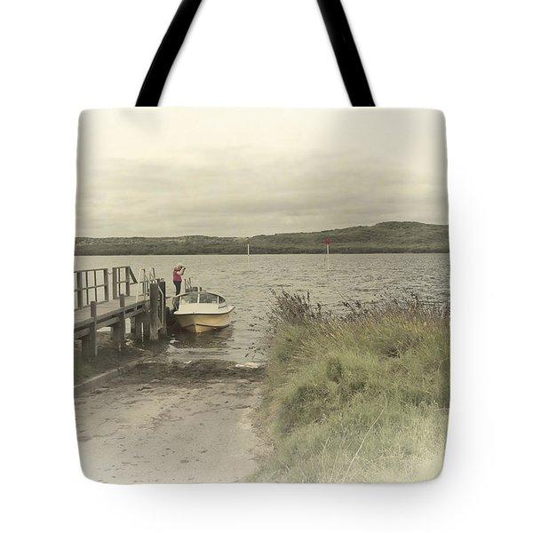 Poddy Shot Ramp Tote Bag by Elaine Teague