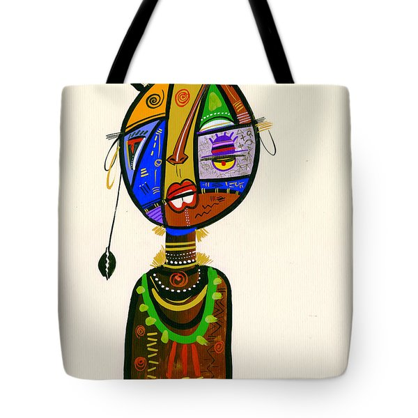 Poetic Faces Tote Bag