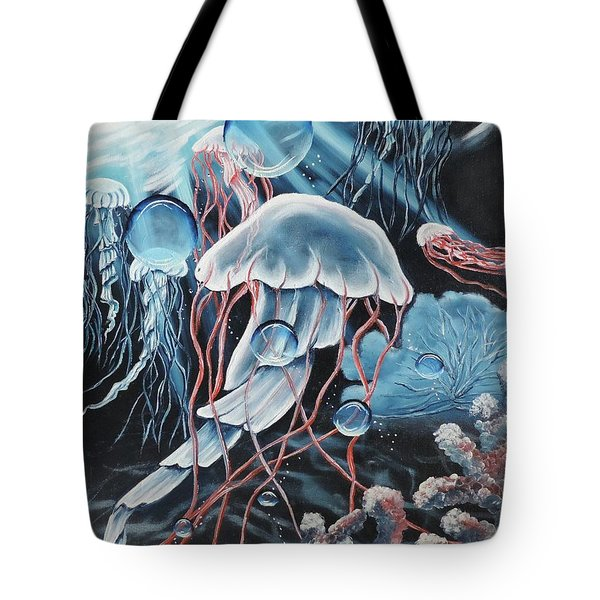 Poetry In Motion Tote Bag by Dianna Lewis