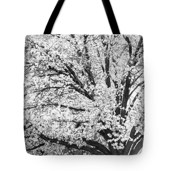 Tote Bag featuring the photograph Poetry Tree by Roselynne Broussard
