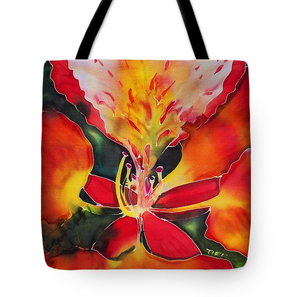 Poinciana Royale Tote Bag
