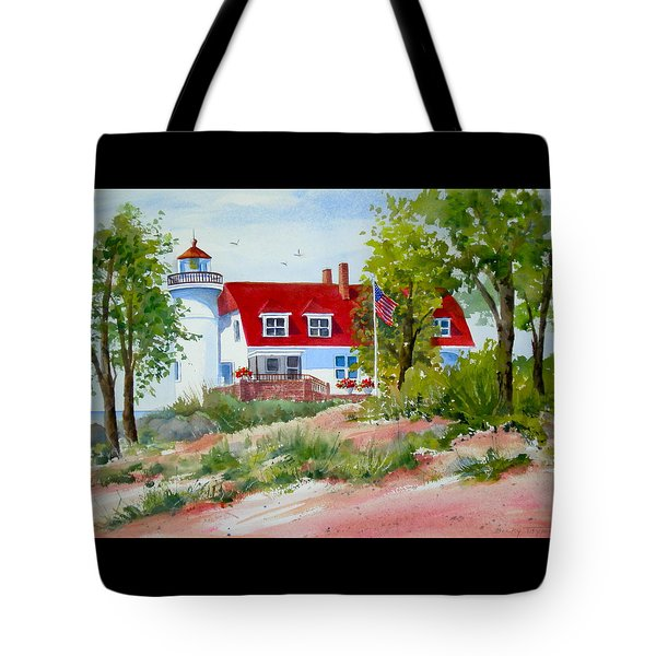 Point Betsie Tote Bag