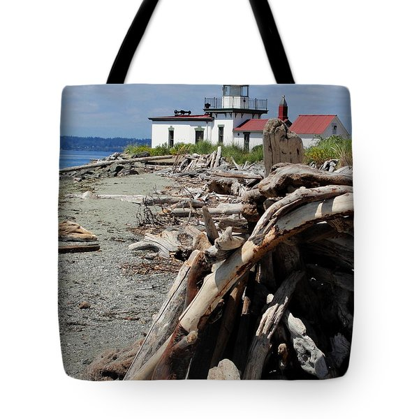 Tote Bag featuring the photograph Point In View by Natalie Ortiz