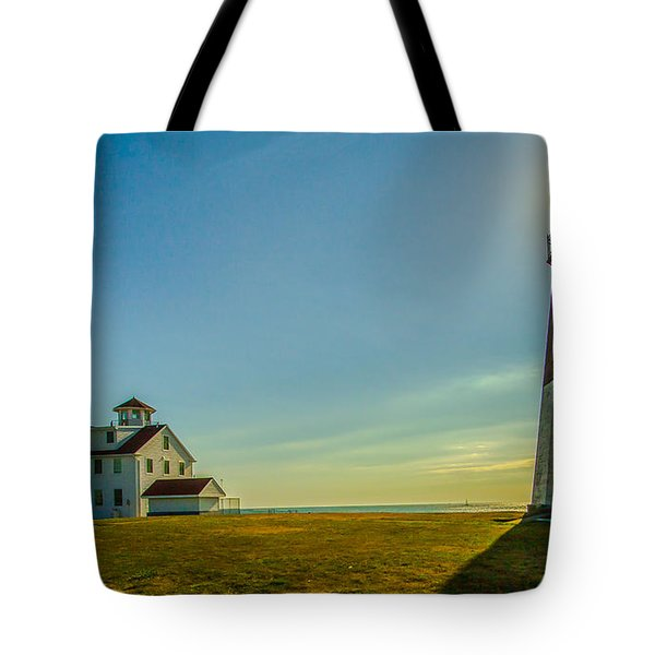 Point Judith Light Tote Bag