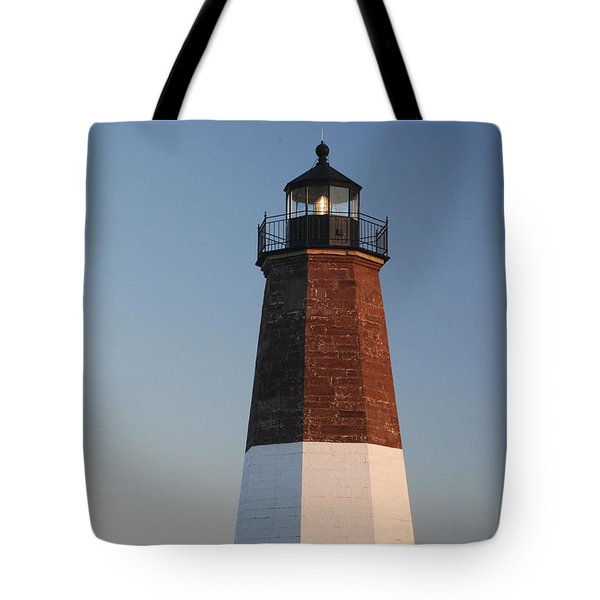 Point Judith Lighthouse Tote Bag