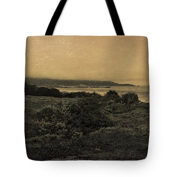 Point Lobos - An Antique Take Tote Bag by Angela A Stanton