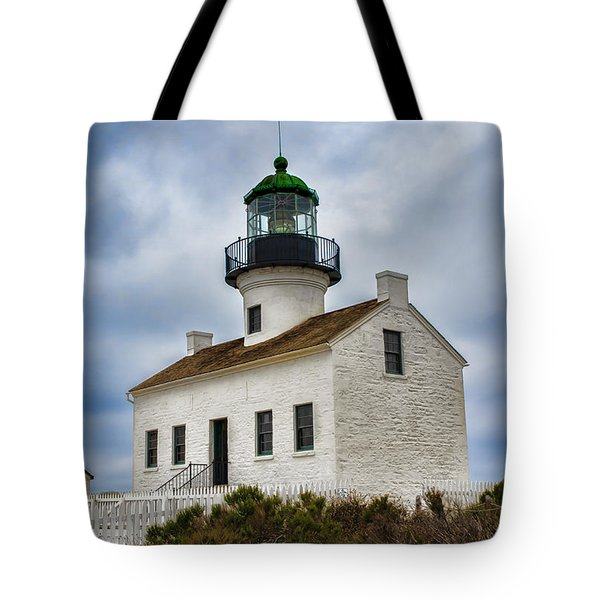 Point Loma Lighthouse Tote Bag