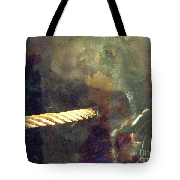 Point Of Insertion Tote Bag by Newel Hunter