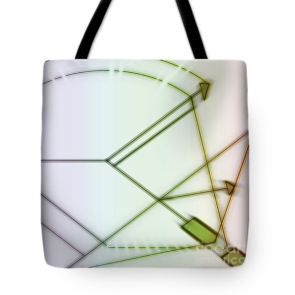 Point-out Projection Tote Bag