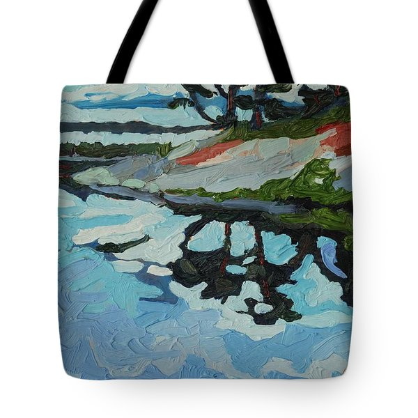 Point Paradise Tote Bag