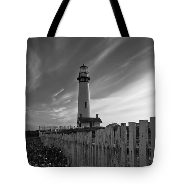 Tote Bag featuring the photograph Point Pigeon Lighthouse by Jonathan Nguyen