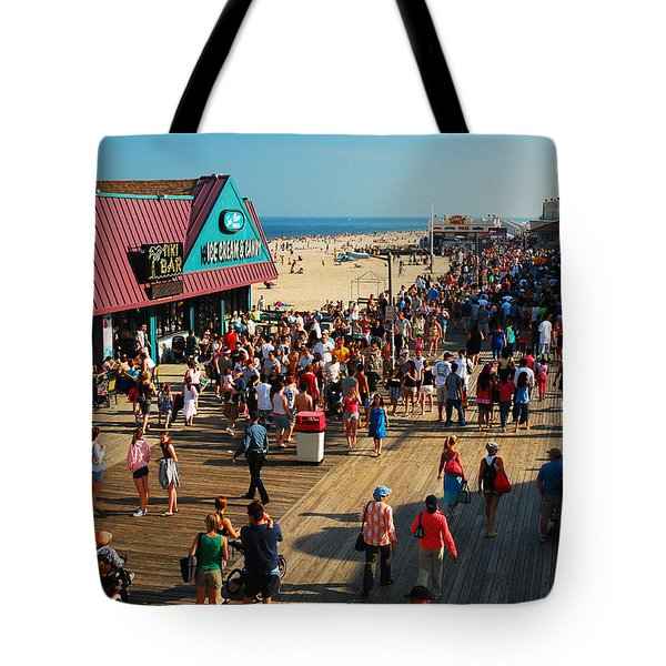 Point Pleasant Boardwalk Tote Bag