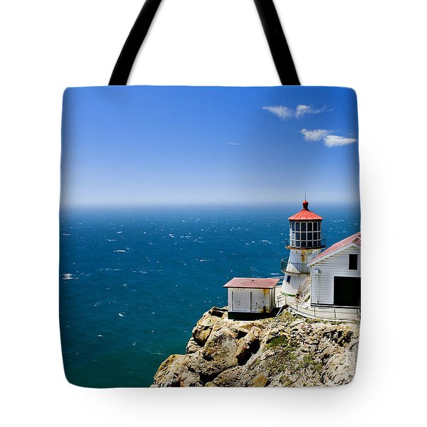 Point Reyes Lighthouse California Tote Bag