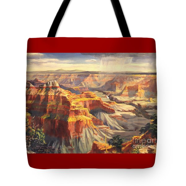 Point Sublime - Grand Canyon Az. Tote Bag