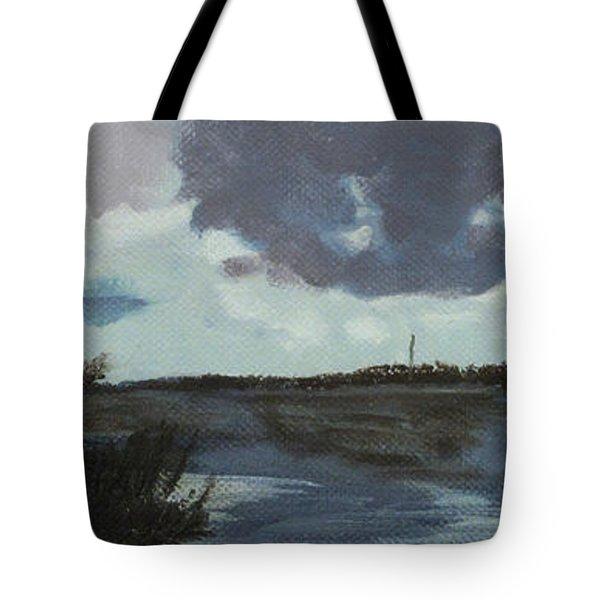 Pointe Of Chein Blue Skies Tote Bag