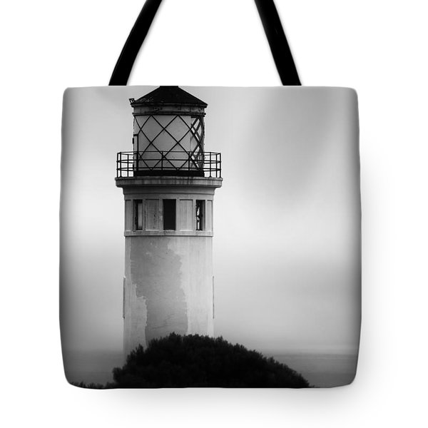 Pointe Vincente Lighthouse Tote Bag