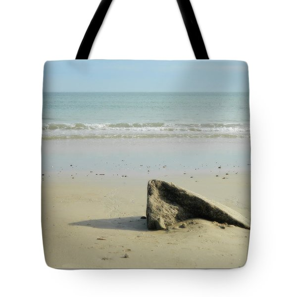 Pointed Rock At Squibby Tote Bag