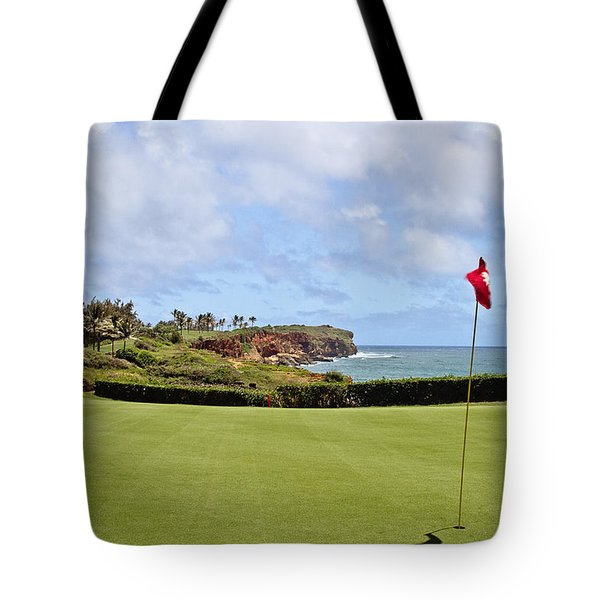 Poipu Bay #16 Tote Bag