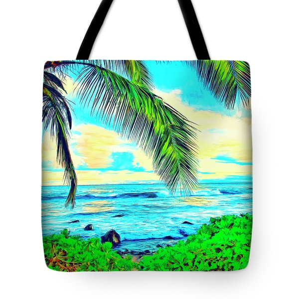 Poipu Sunrise Tote Bag