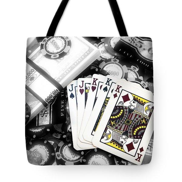 Poker Fusion Tote Bag
