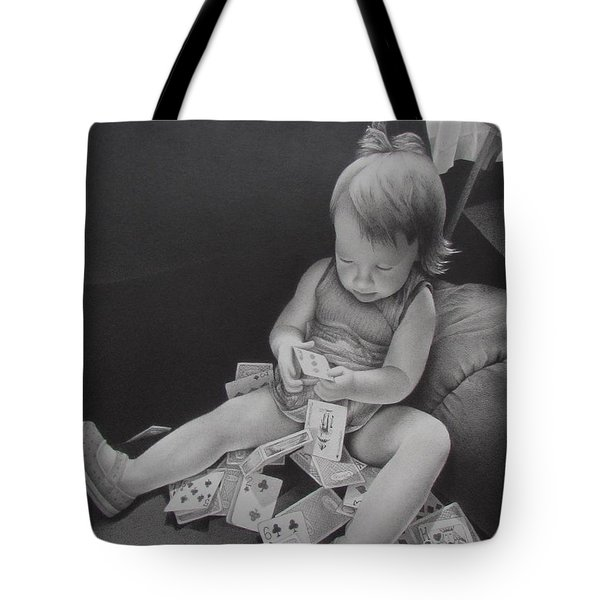 Pokerface Tote Bag
